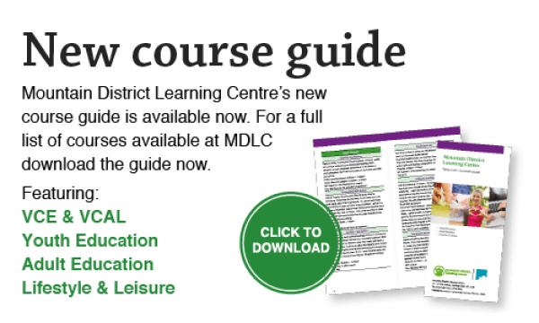 Term 4 Course Guide out now